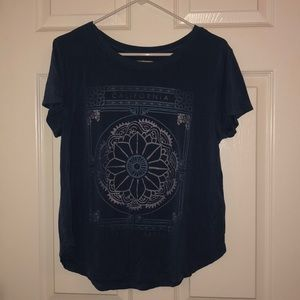 Hollister blue Cali tee size m